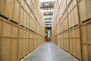 Container storage london facility