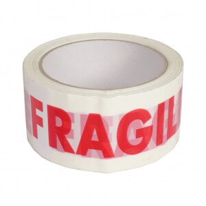 FRAGILE Tape Pick and Move
