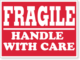 Fragile Label Pick and Move