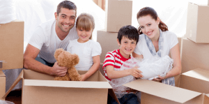 Family Packing For Home Move