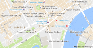Map of central london Pick and Move